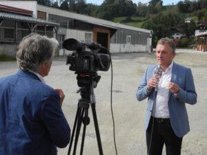 Regionalfernsehen berichtet