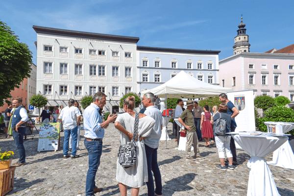 Info-Veranstaltung am Stadtplatz